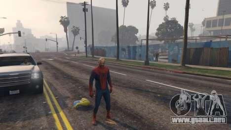 GTA 5 Amazing Spiderman segunda captura de pantalla