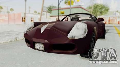 GTA 3 Stinger para la visión correcta GTA San Andreas