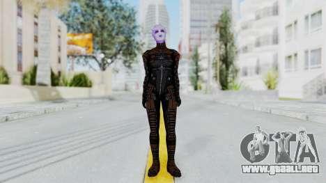 Mass Effect 1 Asari Shiala Commando para GTA San Andreas segunda pantalla