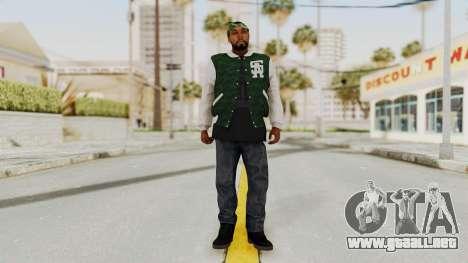 GTA 5 Families Gang Mamber 1 para GTA San Andreas segunda pantalla
