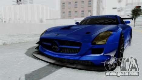 Mercedes-Benz SLS AMG GT3 PJ5 para la visión correcta GTA San Andreas