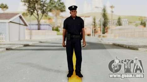GTA 5 LA Cop para GTA San Andreas segunda pantalla