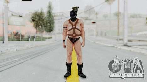 Manhunt 2 - Gimp Bouncer para GTA San Andreas segunda pantalla