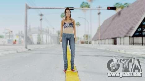 GTA 5 Liz (Elisa Macallen) para GTA San Andreas segunda pantalla