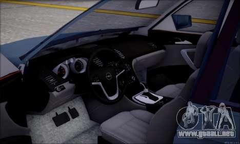 Opel Astra para visión interna GTA San Andreas