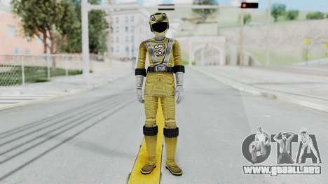 Power Rangers RPM - Yellow para GTA San Andreas segunda pantalla