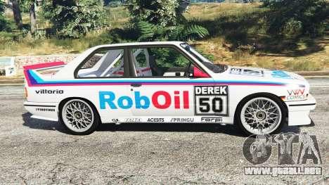 BMW M3 (E30) 1991 v1.3 para GTA 5