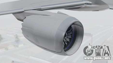Boeing 777-9X Japan Airlines para la visión correcta GTA San Andreas