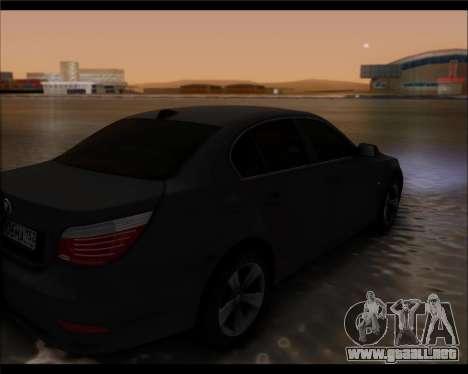 BMW 530xd stock para GTA San Andreas left