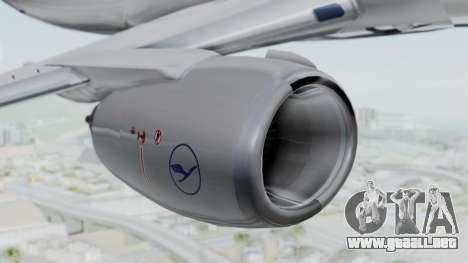 Boeing 737-300 para la visión correcta GTA San Andreas