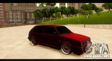Volkswagen Golf GTI Mk2 para visión interna GTA San Andreas