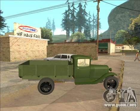 GAZ AA Camión para GTA San Andreas left