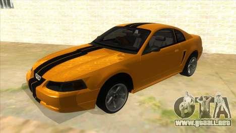 2003 Ford Mustang para GTA San Andreas