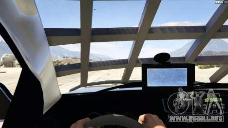 GTA 5 Volkswagen Amarok Apocalypse vista trasera
