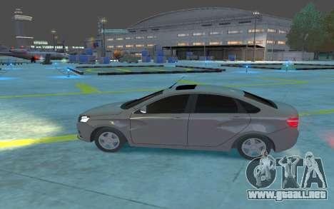 Lada Vesta para GTA 4 left