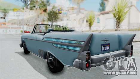 GTA 5 Declasse Tornado No Bobbles and Plaques para GTA San Andreas left