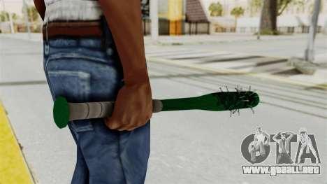 Nail Baseball Bat v1 para GTA San Andreas tercera pantalla