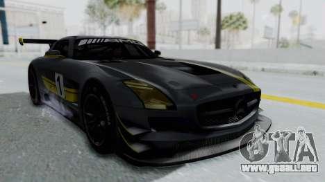 Mercedes-Benz SLS AMG GT3 PJ5 para el motor de GTA San Andreas