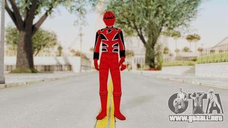 Power Rangers Jungle Fury - Red para GTA San Andreas segunda pantalla