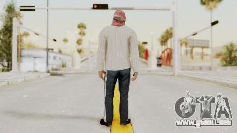 Middle East Insurgent v1 para GTA San Andreas tercera pantalla