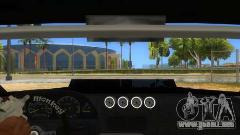 Elegy Tio Sam Style para visión interna GTA San Andreas