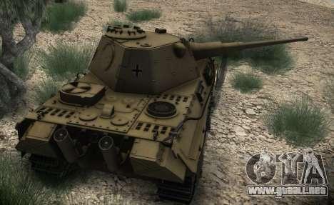 Panther II para la visión correcta GTA San Andreas