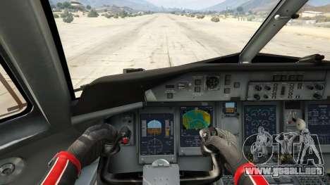 GTA 5 Bombardier Dash 8Q-400 cuarto captura de pantalla