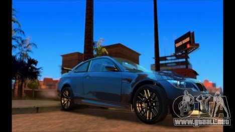ENB NVIDIA 5.0 FINAL para GTA San Andreas segunda pantalla