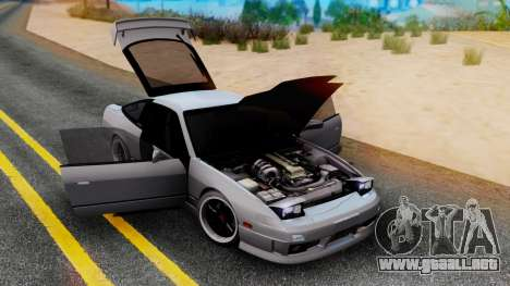 Nissan 180SX Type X para GTA San Andreas left