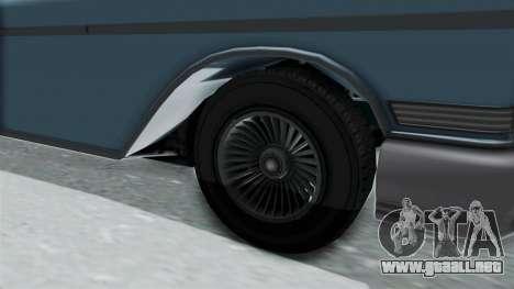 GTA 5 Declasse Tornado No Bobbles and Plaques para GTA San Andreas vista hacia atrás