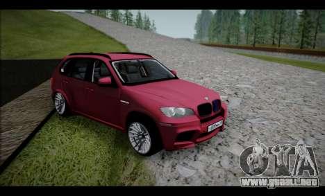 BMW X5M para GTA San Andreas left