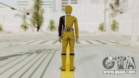 Power Rangers S.P.D - Yellow para GTA San Andreas tercera pantalla