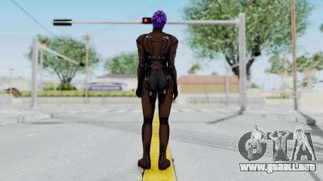 Mass Effect 1 Asari Shiala Commando para GTA San Andreas tercera pantalla