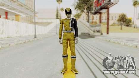 Power Rangers S.P.D - Yellow para GTA San Andreas segunda pantalla