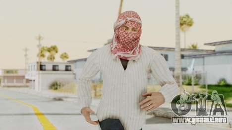 Middle East Insurgent v1 para GTA San Andreas