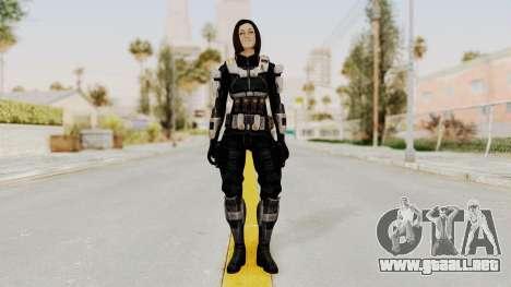 Mass Effect 3 Miranda Short Hair Ajax Armor para GTA San Andreas segunda pantalla