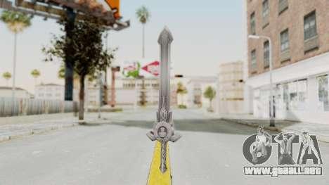 Horse Orphnoch Sword para GTA San Andreas segunda pantalla
