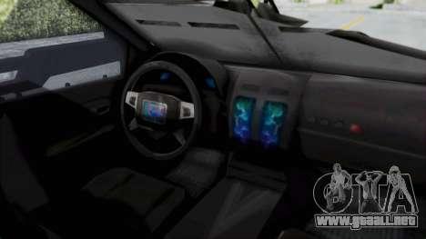 Advanced Warfare Tactical Pickup para la visión correcta GTA San Andreas