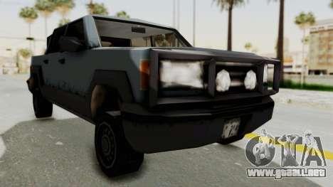 GTA 3 Cartel Cruiser para la visión correcta GTA San Andreas