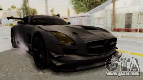 Mercedes-Benz SLS AMG GT3 PJ1 para la visión correcta GTA San Andreas