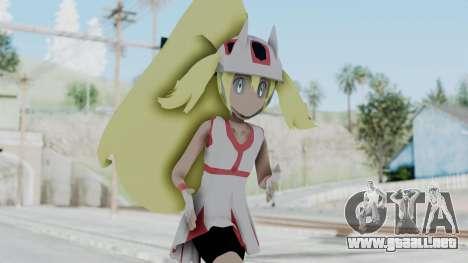 Pokémon XY Series - Korrina v1 para GTA San Andreas