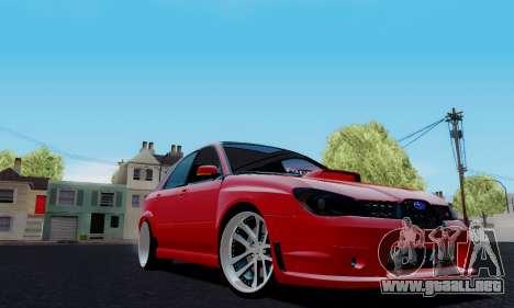 Subaru Impreza WRX STi Wagon Fox 2007 para GTA San Andreas