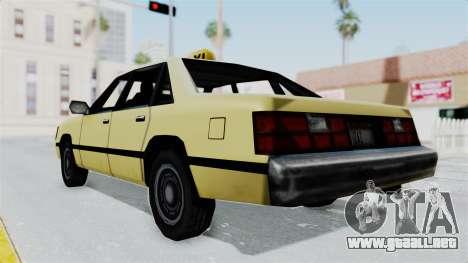 GTA Vice City - Taxi para la visión correcta GTA San Andreas
