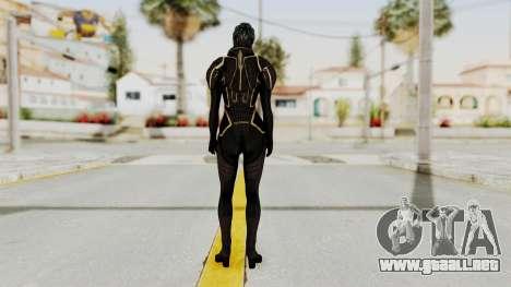 Mass Effect 2 Samara Black para GTA San Andreas tercera pantalla