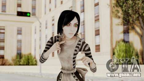 Alice London Madness Returns para GTA San Andreas