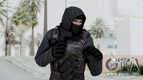 SAS No Gas Mask from CSO2 para GTA San Andreas