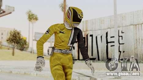 Power Rangers S.P.D - Yellow para GTA San Andreas