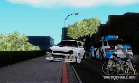 Subaru Impreza WRX STi Wagon Stens para la visión correcta GTA San Andreas