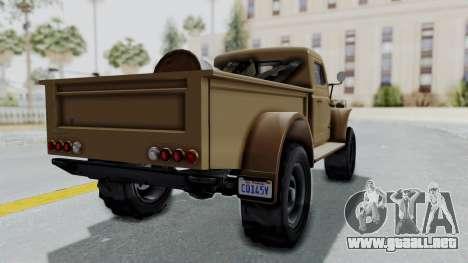 GTA 5 Bravado Duneloader Cleaner para GTA San Andreas left