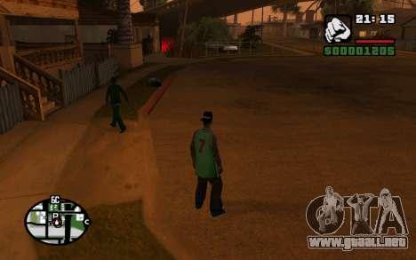 CJ Animation ped para GTA San Andreas séptima pantalla